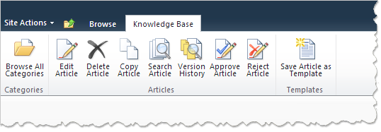 HarePoint Knowledge Base for SharePoint